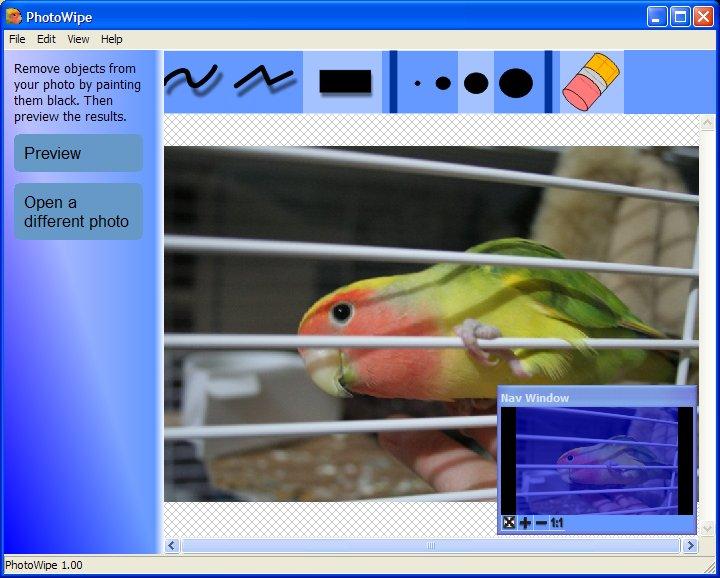 PhotoWipe 1.11 مجاني لمسح اللمسات